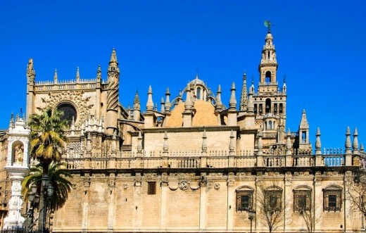 Cathedral of Saint Mary of The Sea,Seville