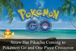 Straw Hat Pikachu Coming to Pokemon Go and One Piece Crossover