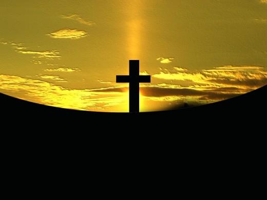 His sacrifice...