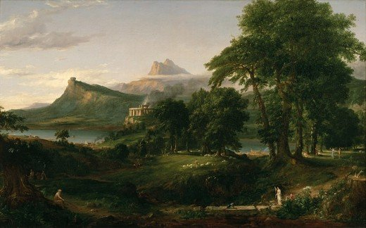 The Pastoral State by Thomas Cole