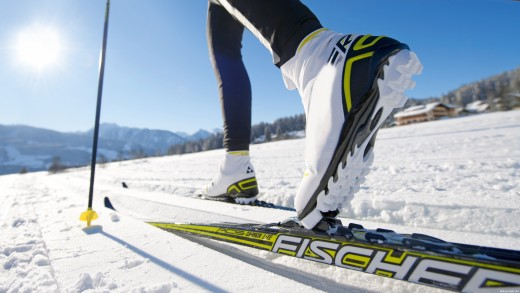 Nordic Skis are connected at the toe only for cross-country skiing!