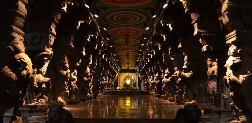 Hall of Thousand Pillars, Madurai