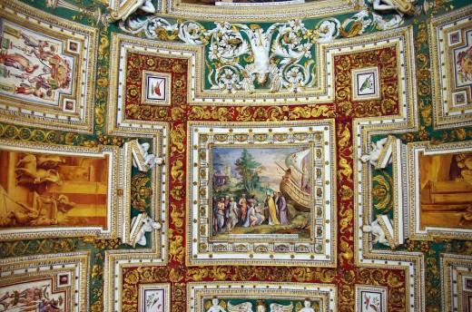 Masterpieces in Vatican museum