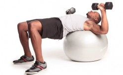 Chest Workouts with a Fitness Ball