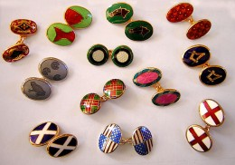 The variety of mens cufflinks is infinite!