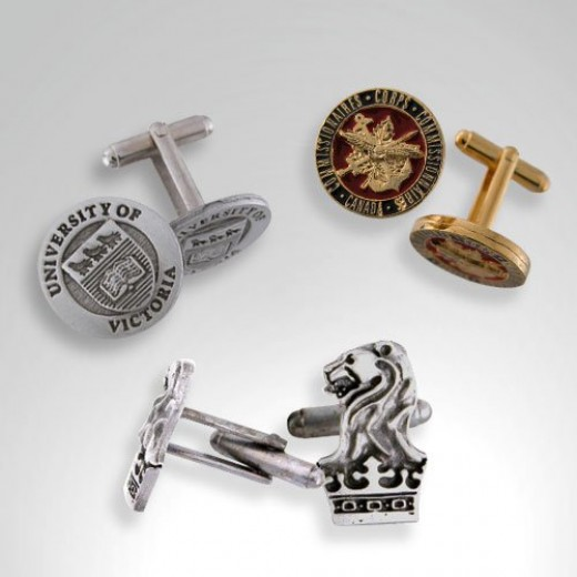 A cuff link is a de rigeur addition to any man's wardrobe.