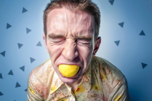 All That I Know About Eating Lemons  Is That They ARE Sour.