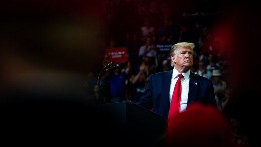 Trump at rally in Florida