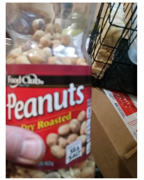 old expired peanuts