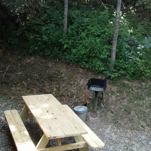 Cooking out is also a great place to hang out!