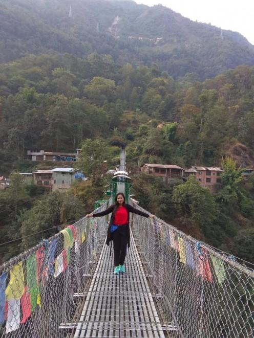 The thrilling bridge at The Last Resort