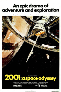Theatrical Release Poster - 2001: A Space Odyssey