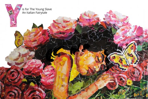 Y is for The Young Slave (a Sleeping Beauty Story) from The FairyTale Alphabet Book by Denise McGill