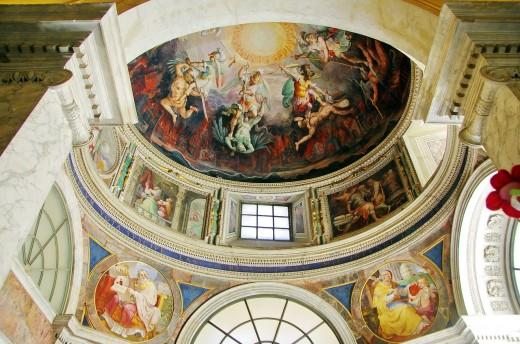 Sistine Chapel's Ceiling view