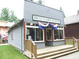An example of an early Dry Goods Store