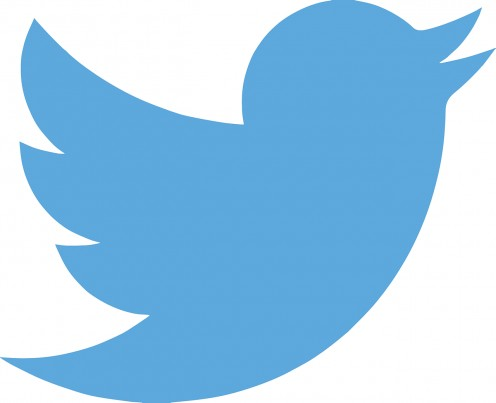 The symbol of Twitter.