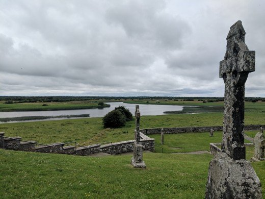 Views from Clonmacnoise