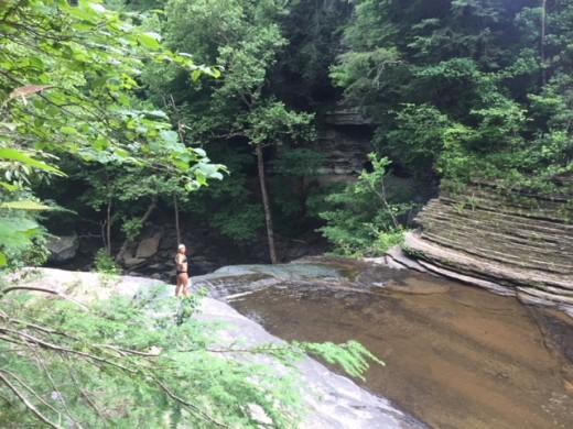 Greeter Falls (upper)