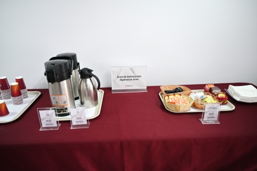 Snacks, and beverages.