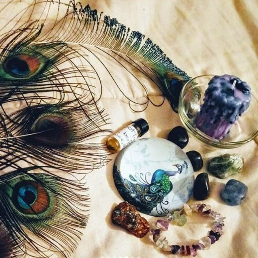 Ritual and ceremony also helps to expand my creativity, and opens me up to ideas that I would not have tried before.