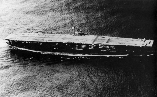 Th Japanese carrier Akagi