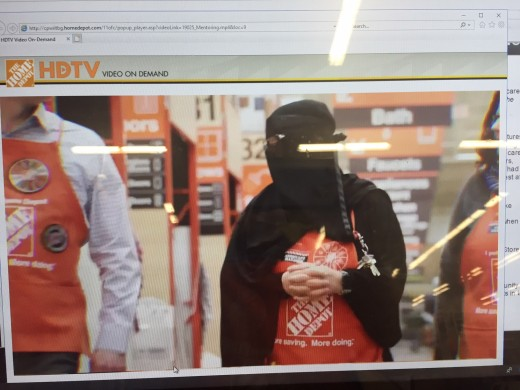 This assistant store manager at a Home Depot creates division.