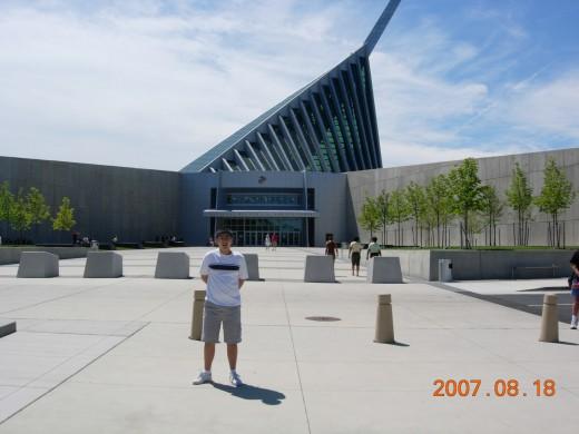 The Marine Corps Museum, Quantico, VA, August 18, 2007.