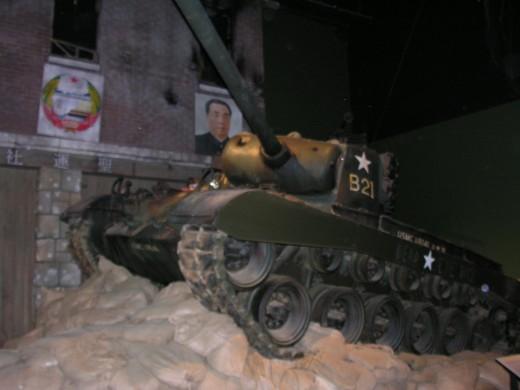 An M-26 Pershing tank