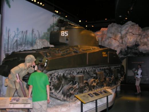 An M-4 Sherman