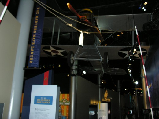 Marine Corps Museum, an early Marine aircraft.