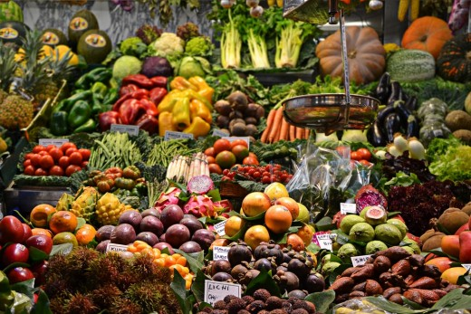 Healthy foods can significantly lower your blood pressure..