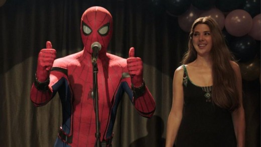 Spidey and Aunt May raise money for charity.