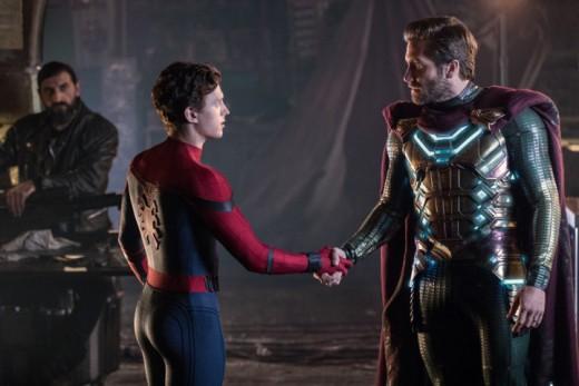 Spidey meets Mysterio
