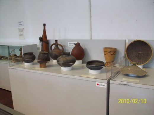 Some Cultural objects from selected from the numerous communities of Tanzania for display at the Museum