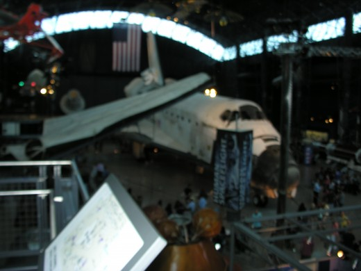 The Space Shuttle Discovery at the Udvar-Hazy Center