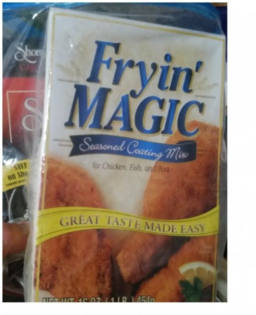 Fry Magic instead of regular flour to keep the bag from sticking and to flavor the meat juice. Makes its own gravy.