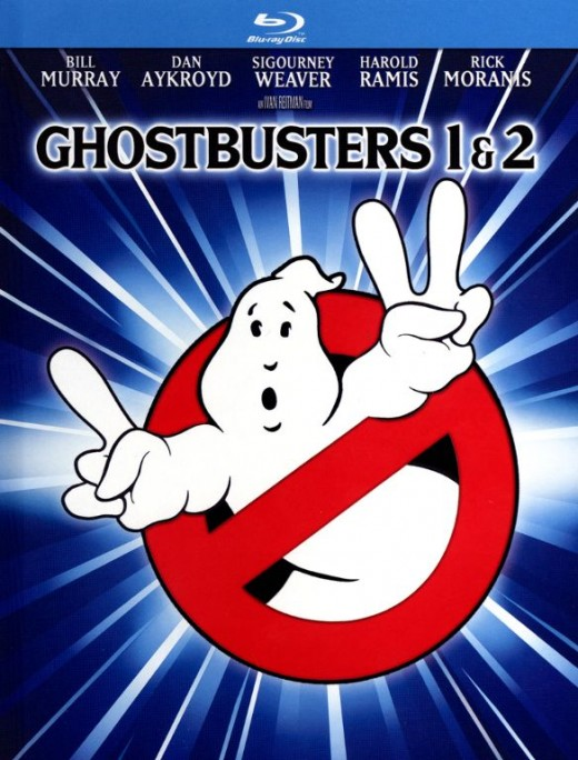 Ghostbusters combo pack blu-ray cover.