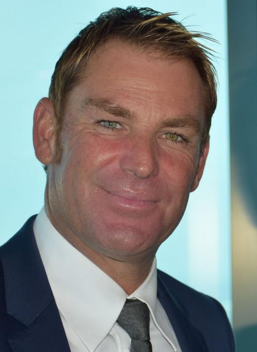 Legendary Aussie bowler Shane Warne, whom recently was named head coach of the London Spirit.