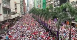 China Blames USA for Hong Kong Protests
