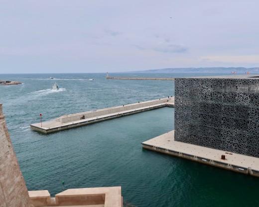 MuCEM or Musée des civilisations de l'Europe et de la Méditerranée