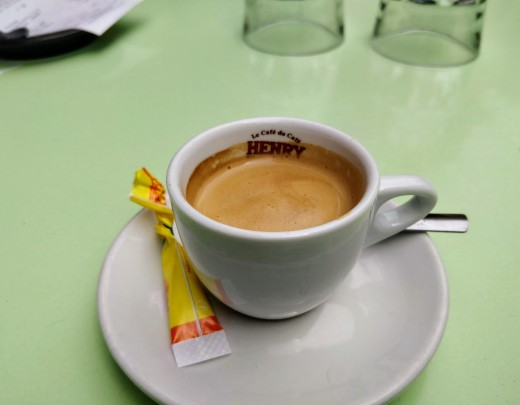 Coffee the French way.