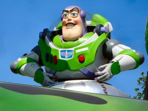 """Buzz Lightyear: """"To infinity and beyond."""""""