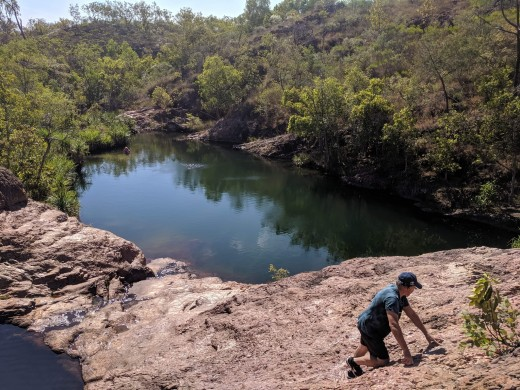 Onward and Upward, Secret Falls, Lichfield National Park, NT, Australia