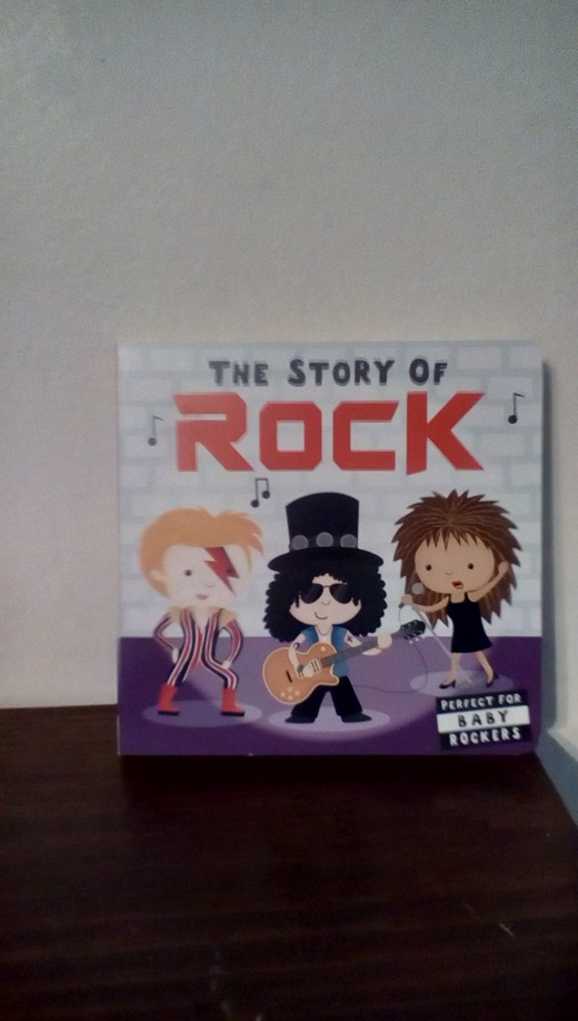 Fun history of important rock stars for young children