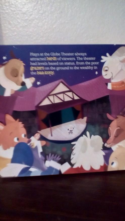 Illustration of the Globe Theater
