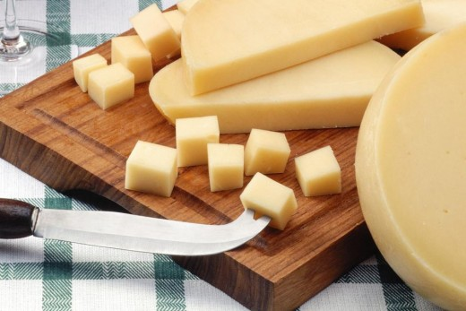 Picante Provolone is a softer variety of cheese that can be cut in chunks and placed on your cheeseboard. (BH)