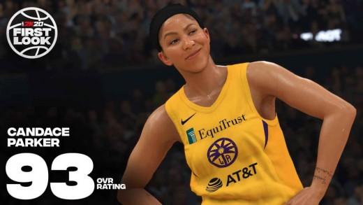 Candace Parker looks great in these graphics