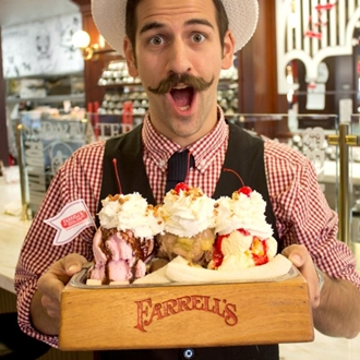 I miss Farrel's Ice Cream Parlors. A great time with family and friends every time!