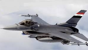 One of the few F-16 the Iraqi AF has