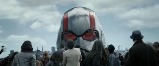 Ant-Man being Giant-Man.